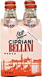 Cipriani Food Peach Bellini Mix - 6.09 Fluid Ounce - 4 Glass Bottles (1 Pack)