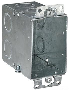 Ciudad de acero CY-3/4 caja de interruptor, gangable, antiguo trabajo