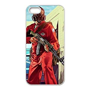 iphone5 5s White phone case Grand Theft Auto Birthday gift Best Xmas Gift for Boy QBI4376114