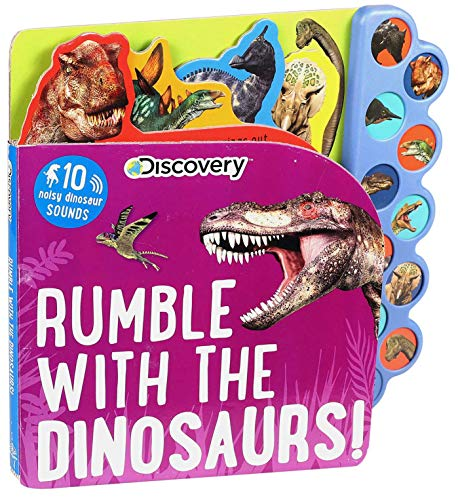 Discovery: Rumble with the Dinosaurs! (10-Button Sound Books)