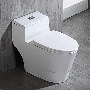 Pleasing Woodbridgebath Woodbridge Luxury Elongated One Piece Toilet Pdpeps Interior Chair Design Pdpepsorg
