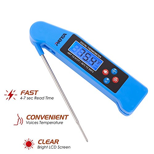 Thermometer PATEA Collapsible Backlight MeatNThermometer