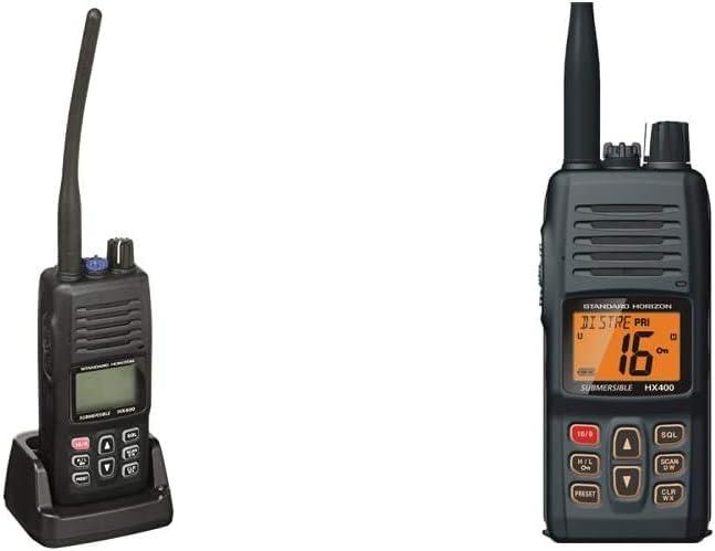 Standard Horizon HX400IS Intrinsically Safe Handheld VHF Radio & Horizon HX400 W/SBR-29LI, Handheld VHF Marine Radio