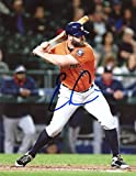 EVEN GATTIS AT BAT HOUSTON ASTROS SIGNED 8X10 PHOTO W/COA
