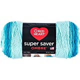 Red Heart Super Saver Ombre Yarn, 10 oz, Scuba: more info