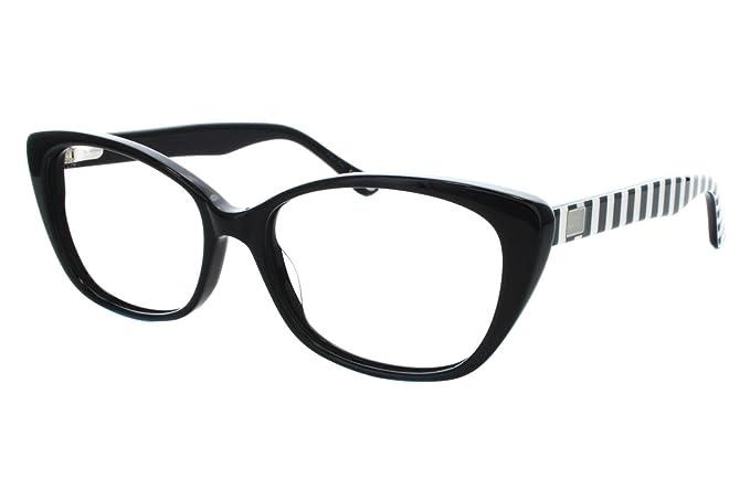 Lulu Guinness Women\'s L874 Eyeglass Frames Black: Amazon.ca ...