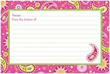 Brownlow Kitchen 44495 Stella Gifts Recipe Cards, Pink