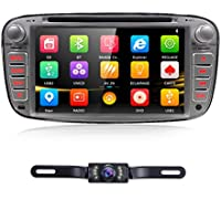 7 Full Touch-screen Ford Focus Car DVD CD player GPS 2 Din Stereo GPS Navigation 3G free camera,canbus Color Sliver
