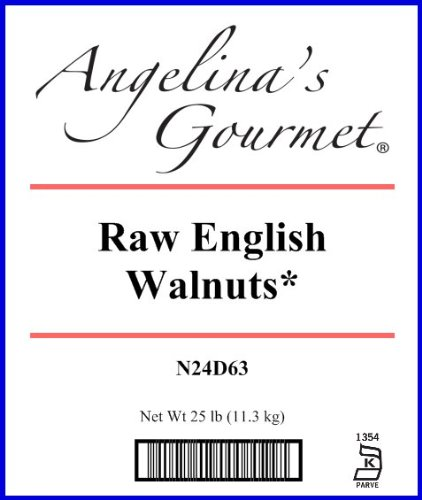 Raw English Walnuts - 25 Lb Bag / Box