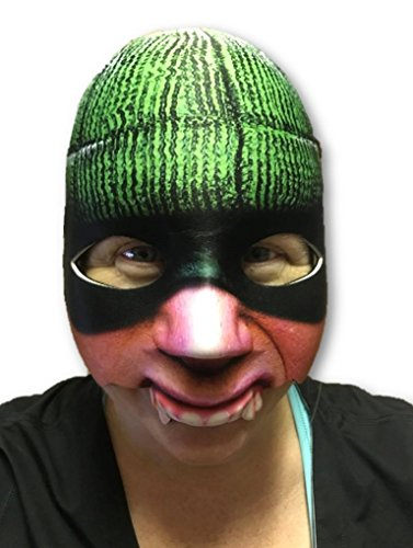 Cat Burglar Costume Accessories (Cat Burglar Half Face Mask Bank Robber Adult Funny Halloween Costume Accessory)