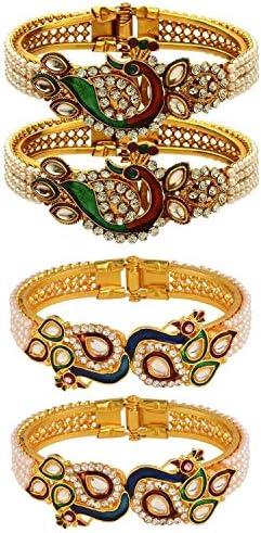Efulgenz Fashion Bollywood Rhinestone Bracelet product image