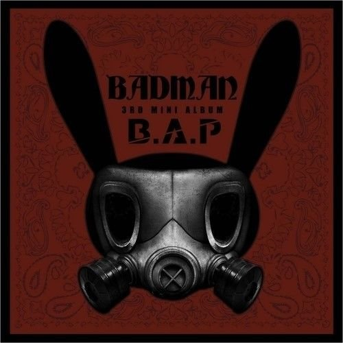 B.A.P [BADMAN] 3th Mini Album CD+Photobook+Photocard+Stencil+Tracking Number K-POP SEALED