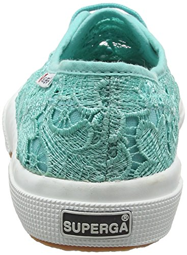 Turquoise Aqua Superga 2750 Marine Sneaker MACRAMEW Damen zInPqnfO