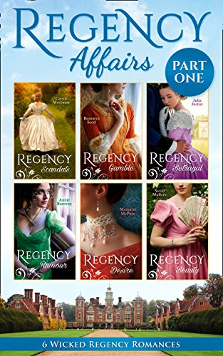 book cover of Regency Affairs Part 1
