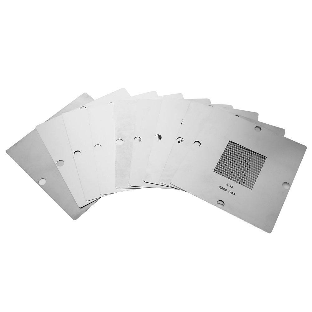 Station de reprise BGA kit de billes station de rebillage Kit de reprise de soudure Station de soudage pochoirs