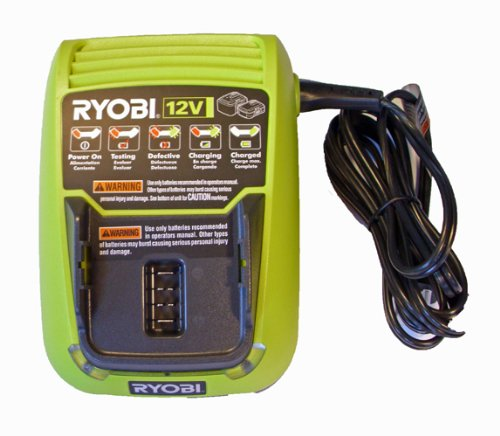 Ryobi C120D - Replacement (2 Pack) 12v Cordless Lithium-Ion Battery Charger # C120D-2pk by Ryobi