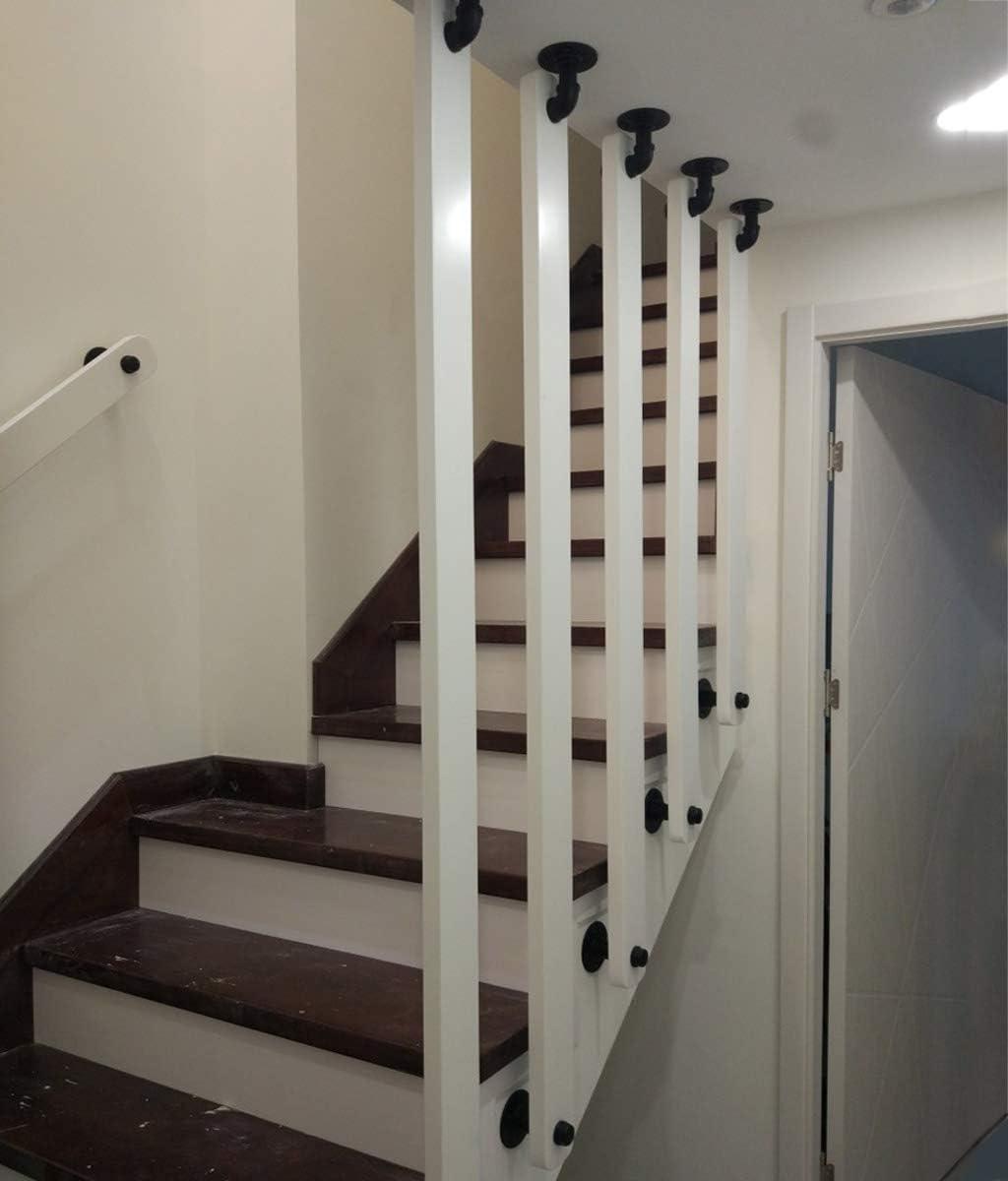 YUDE Barandilla de la escalera de Madera Maciza Antideslizante, barandilla Interior de Pino Blanco (envíenos Datos de tamaño específico después de la Compra): Amazon.es: Hogar
