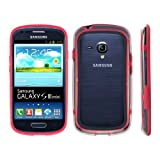 kwmobile Stylish TPU Silicone BUMPER for Samsung Galaxy S3 Mini i8190 in red - 360° protection for your mobile phone