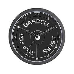 CafePress Barbell Unique Decorative 10 Wall Clock