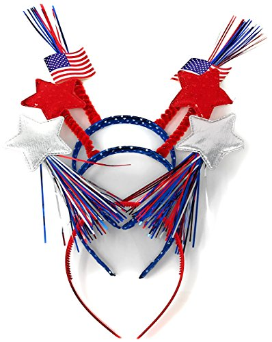 Sea View Treasures 6 Bulk Patriotic Head Bopper
