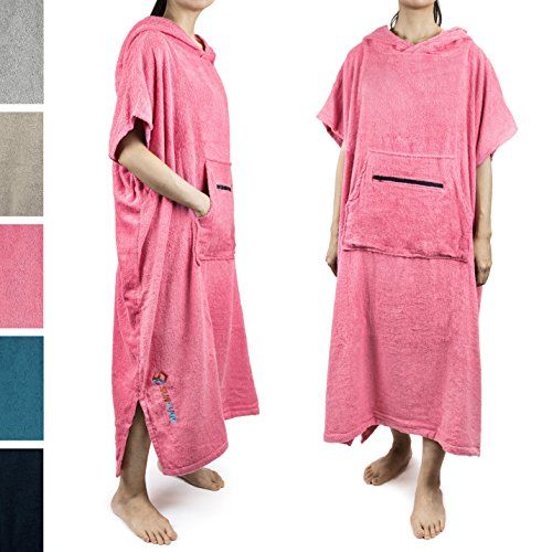 Changing Robe with Hood |Terry Cotton Changing Towel Womens ()