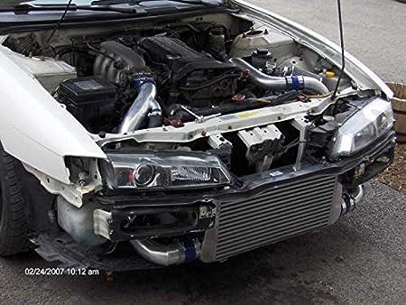 Amazon.com: CXRacing Intercooler Piping Kit + BOV for 89-99 240sx S14 S15 Sr20det: Automotive