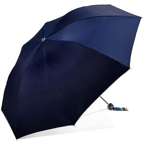 4889e19671ba Amazon.com: MSNDD Umbrella Silver Glue Sunscreen UPF50+ UV ...