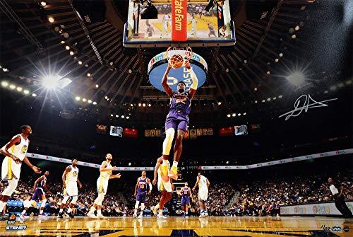 Autographed Slam Dunk - DEANDRE AYTON Autographed Phoenix Suns