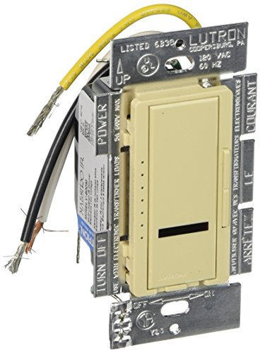 Lutron MIRELV-600M-IV Maestro IR 600-watt Multi Location Electronic Low Voltage Dimmer, Ivory by Lutron