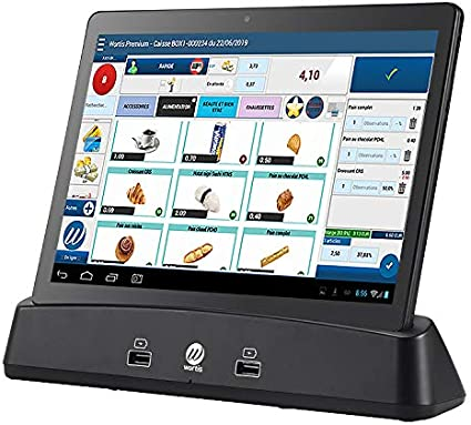 WortisPad - Tableta android para caja registradora (software gratuito Wortis certificado NF525): Amazon.es: Oficina y papelería