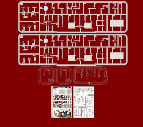 MiniArt Office Furniture & Accessories 1/35 35564 4