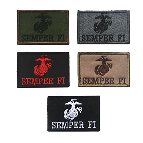 Usmc Military Patch - Military Patches Compatible USMC Semper Fi Tactical Uniform Military Embroidered Applique