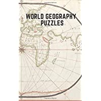 World Geography Puzzle: Geography Activity Book for Active Minds Crosswords Word Find, Brain Games - Large Print…