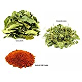 Jalpur Miller Spice Combo Pack - Dried Fenugreek Leaves 100g - Kashmiri Chilli Powder 100g - Dried Curry Leaves 50g (3 Pack)