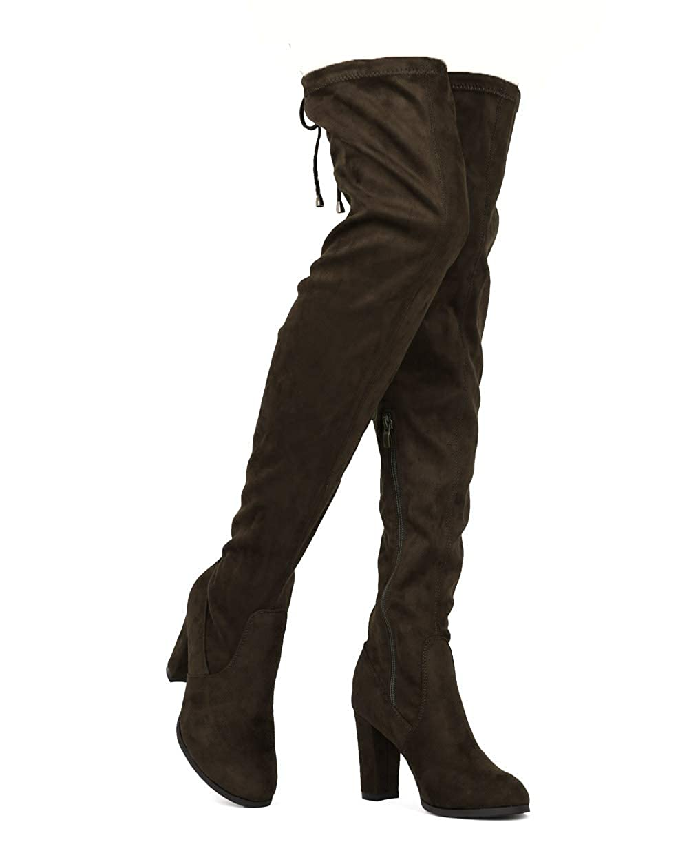 ShoBeautiful Womens Over The Knee Boots Stretchy Thigh High