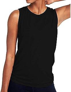 FRAUIT Bluse Damen Kurzarm Yoga Hemde Activewear reizvolle offene Sport-Trägershirts T-Shirt Ladies Extended Shoulder Tee, Shirt Lose,Weich und Bequem Sport Freizeit Kleidung