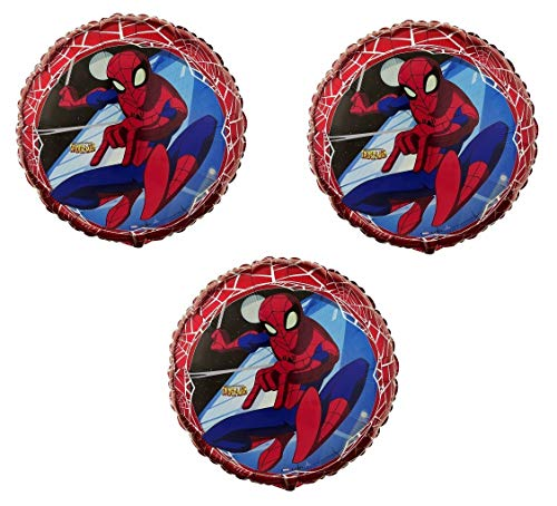 The Spectacular SPIDERMAN Birhday Party Mylar Foil Balloons - 3 -