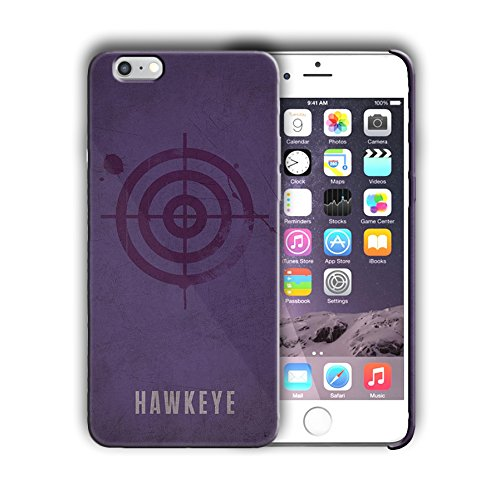 Superhero design for Iphone 6 6s (4.7in) Hard Case Cover (hawk2) ()