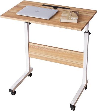 Dlandhome Table Roulante De Lit Canape Pour Ordinateur Portable