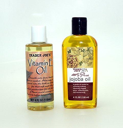 Natural Skin Care Oils - Jojoba Oil and Vitamin E Oil