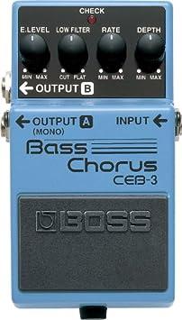 BOSS CEB-3 Bass Chorus Pedal