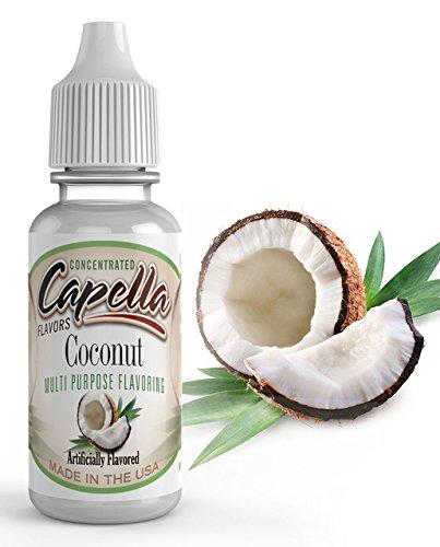 - Capella Flavour - Coconut Flavour Concentrate 13ml