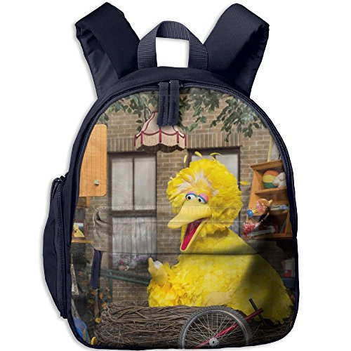Sesame Street Functional Design For Kids School Backpack Children Bookbag Perfect For Transporting For Casual In 4 Season Navy (Sesame Street Abby Cadabby Halloween Costume)