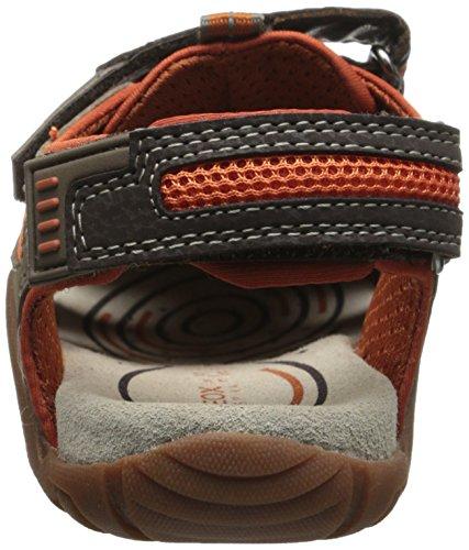 GEOX, JR SANDAL KRAZE - Sandalias para niños marrón - Braun (BROWN/ORANGEC0616)