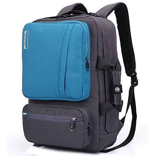 Socko 10-17-Inch Nylon Padded Laptop Backpack with Handle an