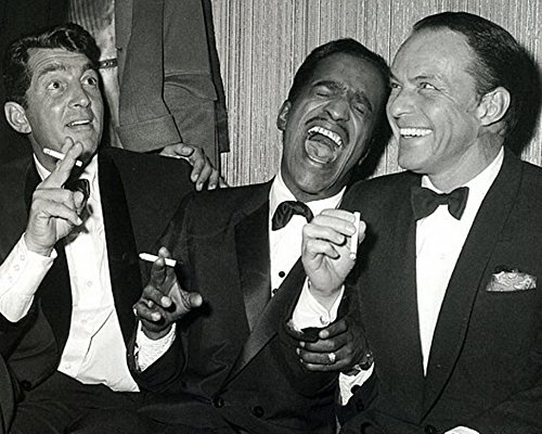 The Rat Pack - Dean Martin Sammy Davis Jr. & Frank 8 x 10 * 8x10 GLOSSY Photo Picture]()