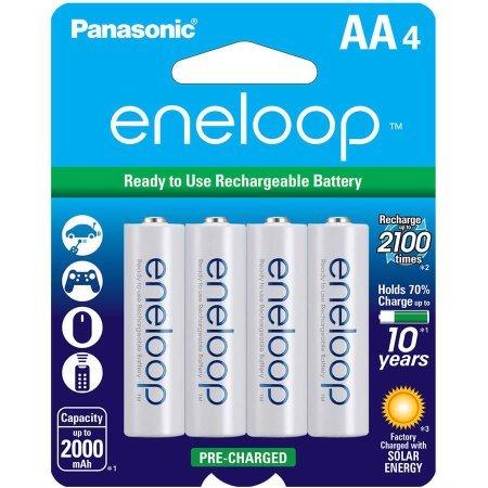 Price comparison product image Panasonic BK-3MCCA4BA eneloop Batteries 4pk