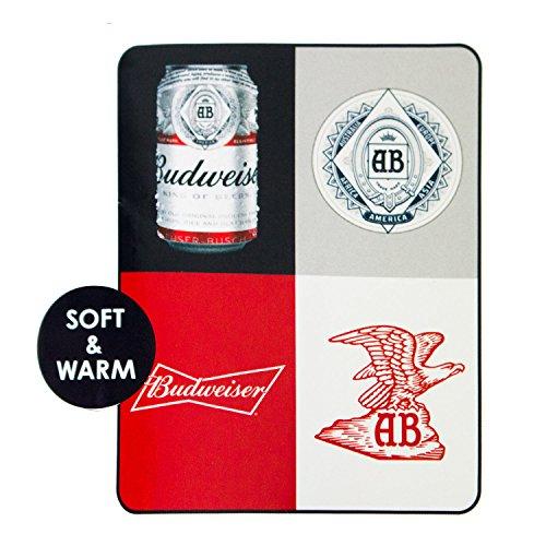 Budweiser Throw (Budweiser Boxes Beach Blanket)