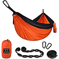 Gold Armour Camping Hammock - XL Double Parachute Hammock...