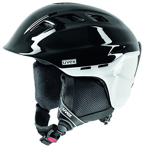 Uvex Women's Comanche 2 Pure High Performance Ski/Snowboard Helmet, Satin Black, Medium/55cm to 59cm Adjustable